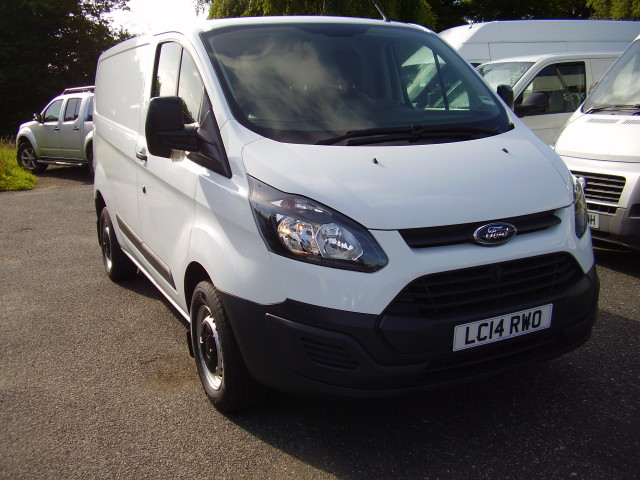 2014 (14) FORD TRANSIT CUSTOM L1 290 100ps £11,975.00 2198cc, 19,000 miles