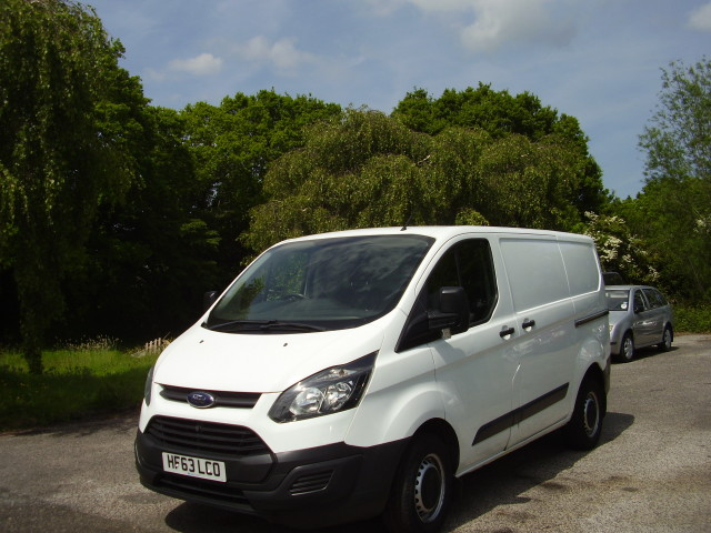 13(63) TRANSIT CUSTOM 310 £8,450.00 ECO-TECH EURO 5