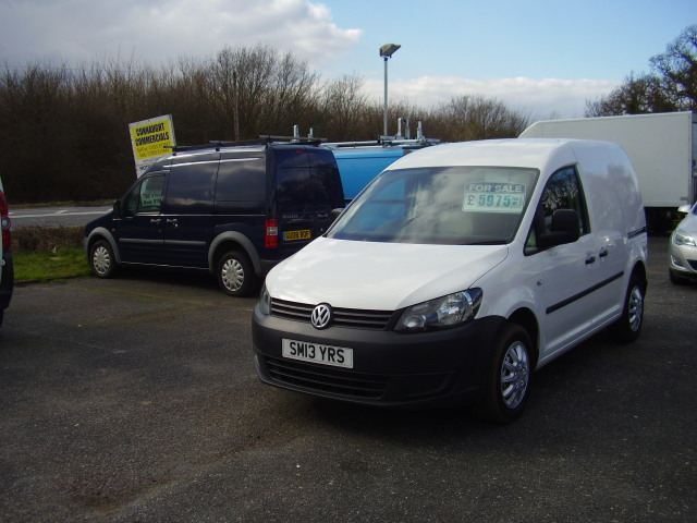 2013(13) VOLKSWAGEN CADDY C20 £5,975.00 STARTLINE TDi new shape