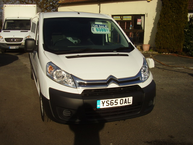 2015(65) CITROEN DISPATCH 1200 L2Hi LWB £6,500.00 En-rise HDi 1997cc